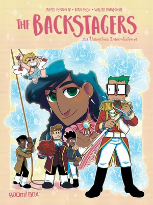 cover image of The Backstagers 2018 Valentine's Day Special, Issue 1