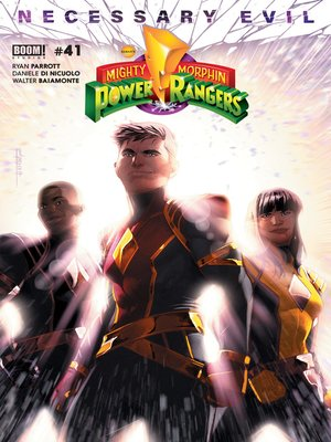 cover image of Mighty Morphin Power Rangers, Issue 41