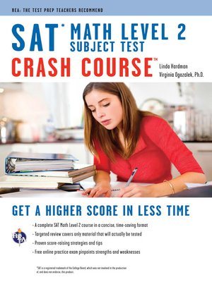 cover image of SAT Subject Test: Math Level 2 Crash Course