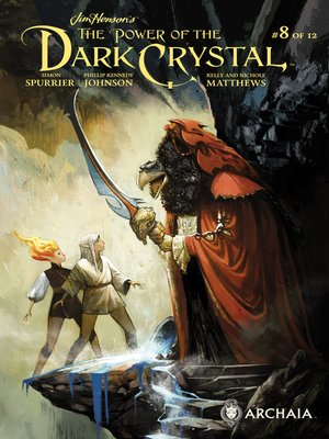 cover image of The Power of the Dark Crystal (2017), Issue 8