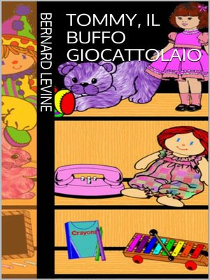 cover image of Tommy, il buffo giocattolaio