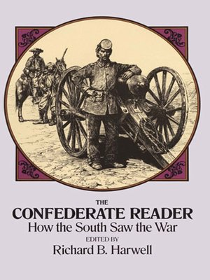 cover image of The Confederate Reader