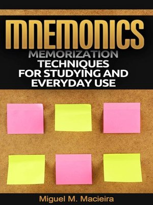 cover image of Mnemonics