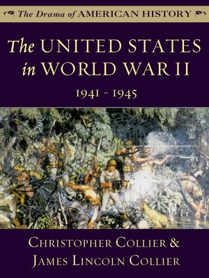 cover image of The United States in World War II: 1941 - 1945