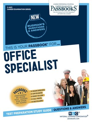 cover image of Office Specialist