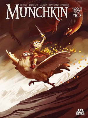 cover image of Munchkin (2015), Issue 10