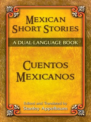 cover image of Mexican Short Stories / Cuentos mexicanos