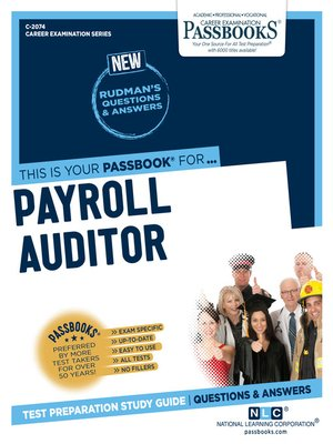 cover image of Payroll Auditor