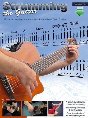 cover image of Guitar Strumming for Intermediate & Upward with Audio & Video