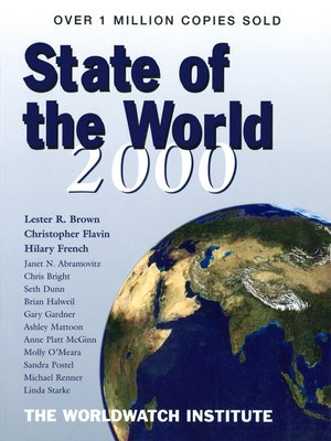 cover image of State of the World 2000