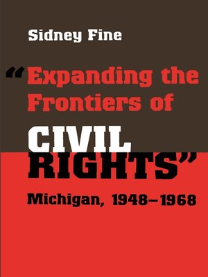 """cover image of """"Expanding the Frontiers of Civil Rights"""""""