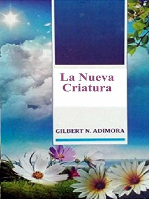 cover image of La Nueva Criatura