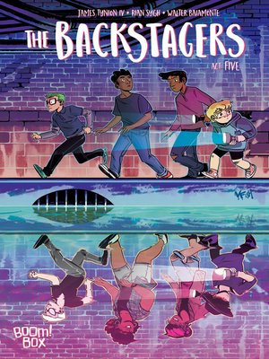 cover image of The Backstagers (2016), Issue 5