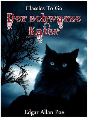 cover image of Der schwarze Kater