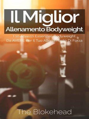 cover image of Il miglior allenamento bodyweight