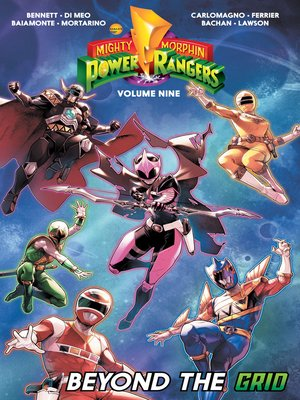 cover image of Mighty Morphin Power Rangers (2016), Volume 9