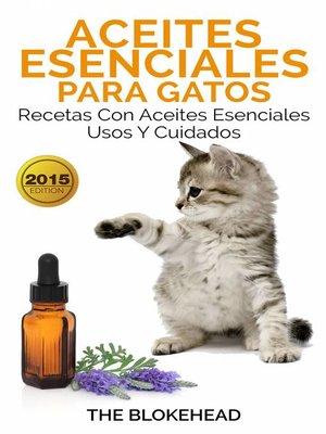 cover image of Aceites esenciales para gatos