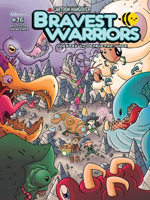 cover image of Bravest Warriors #26