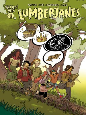 cover image of Lumberjanes (2014), Issue 53