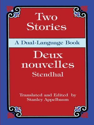 cover image of Two Stories (Deux nouvelles)