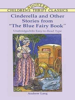 "cover image of Cinderella and Other Stories from ""The Blue Fairy Book"""