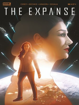 cover image of The Expanse #4