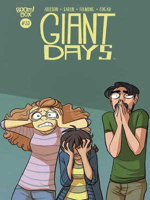 cover image of Giant Days (2015), Issue 33