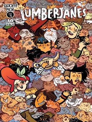 cover image of Lumberjanes (2014), Issue 15