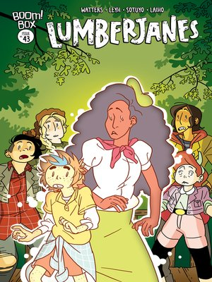 cover image of Lumberjanes, Issue 43