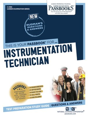 cover image of Instrumentation Technician