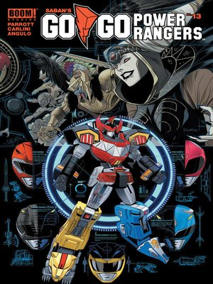 cover image of Saban's Go Go Power Rangers, Issue 13
