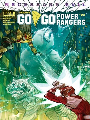 cover image of Saban's Go Go Power Rangers, Issue 23