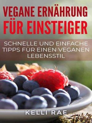 cover image of Vegane Ernährung für Einsteiger
