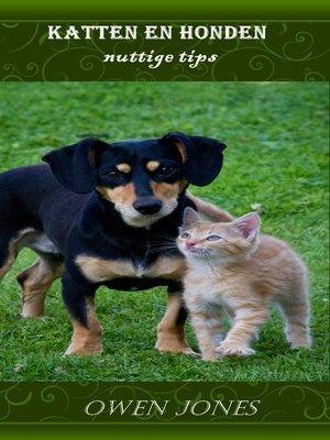 cover image of Katten en honden