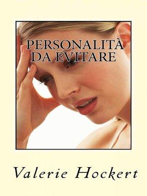 cover image of Personalità da Evitare