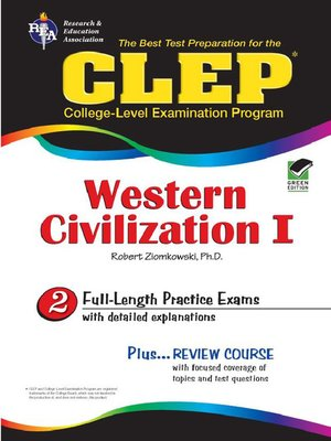 cover image of CLEP Western Civilization I - Ancient Near East to 1648