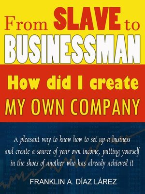 cover image of From Slave to Businessman
