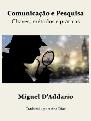 cover image of Comunicação e Pesquisa