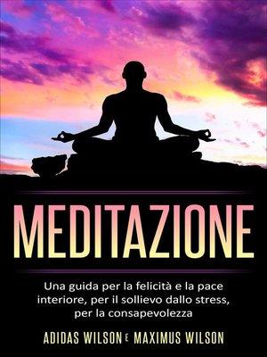 cover image of Meditazione