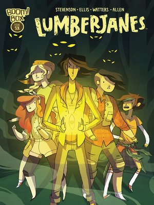 cover image of Lumberjanes (2014), Issue 6