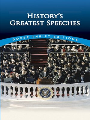 cover image of History's Greatest Speeches