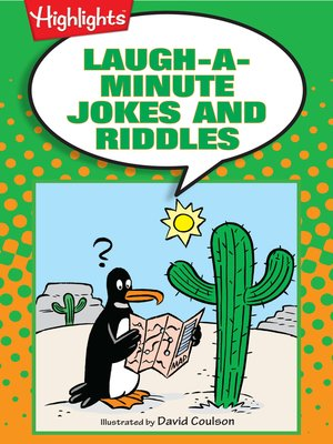 cover image of Laugh-a-Minute Jokes and Riddles