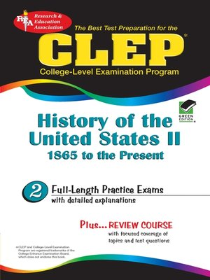 cover image of CLEP History of the United States II