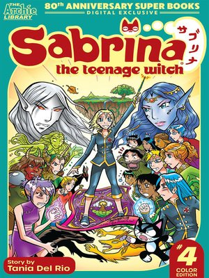 cover image of Sabrina Manga