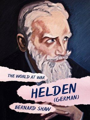 cover image of Helden (German)