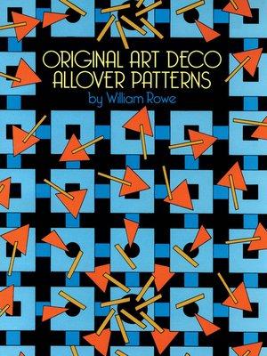 cover image of Original Art Deco Allover Patterns