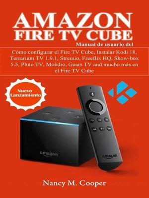 cover image of Manual de usuario Amazon Fire TV Cube