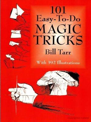 cover image of 101 Easy-to-Do Magic Tricks