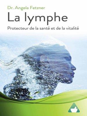 cover image of La lymphe