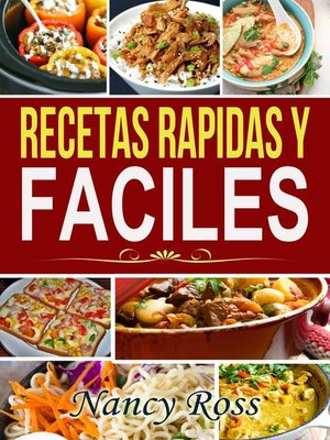 cover image of Recetas Rapidas y Faciles